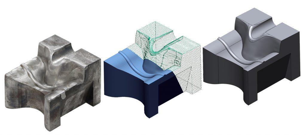 3Dスキャン 測定 精度 図面化